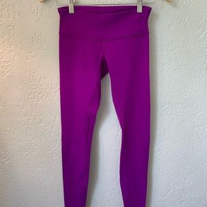 Lululemon Size 4 Wunder Under Tights *LUON*